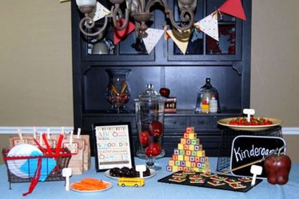 Back To School Party Feature
