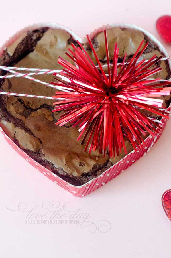 Disposable Valentine Baking Pans:: Love The Day Favorites