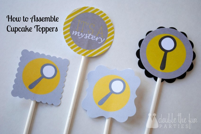 How To Make Cupcake Toppers - DIY Cupcake Toppers
