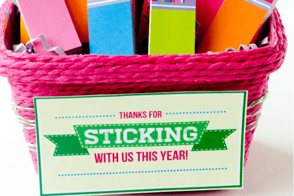 Free printable teacher appreciation gift