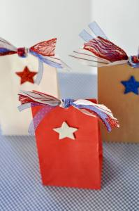 Patriotic Favor Bags by Love The Day
