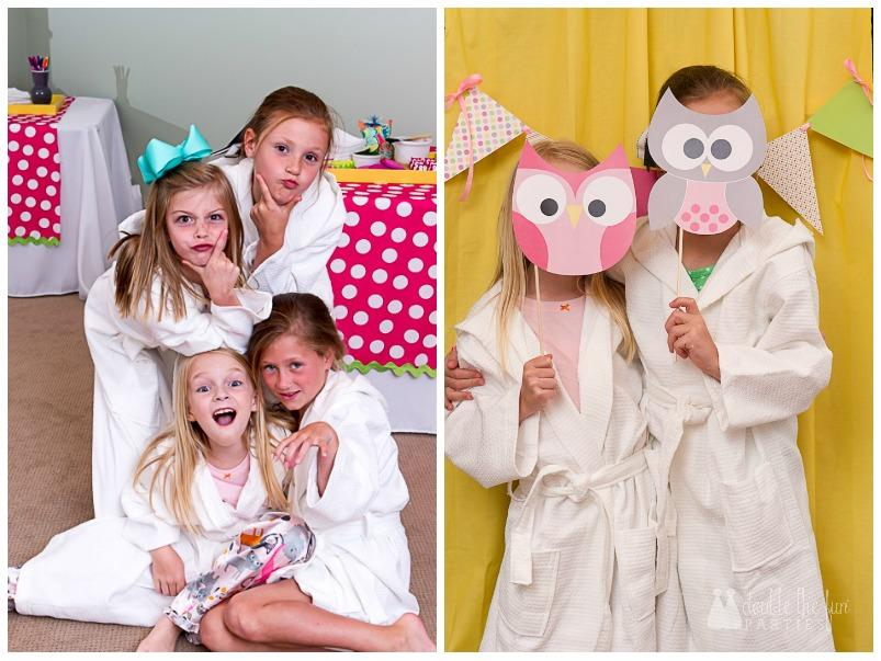 Night Owl Party Activities: Spa Night