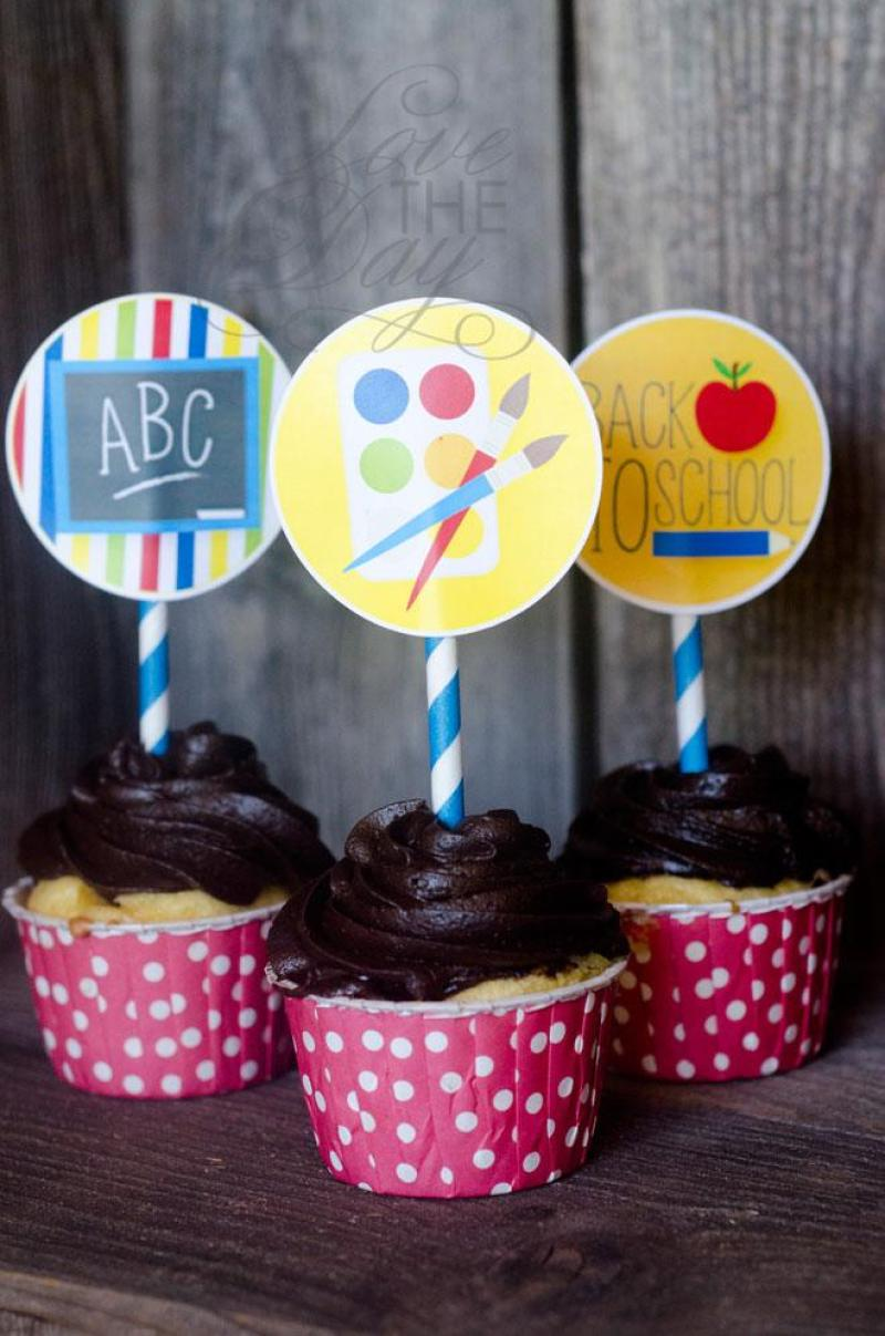 Back To School Printable Party by Love The Day