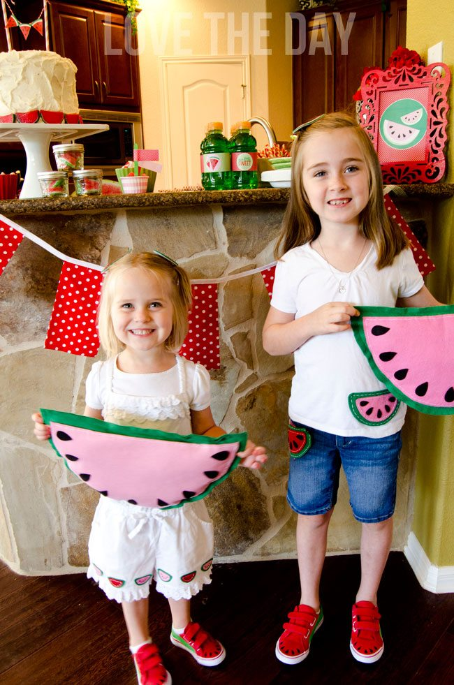 Watermelon Pillows, Shoes and Outfits by Love The Day
