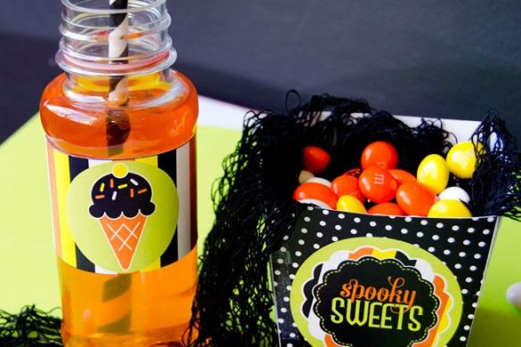 Halloween Printable Party - Trick or Sweets by Love The Day