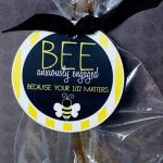 Free LDS Printable:: BEE Anxiously Engaged by Love The Day
