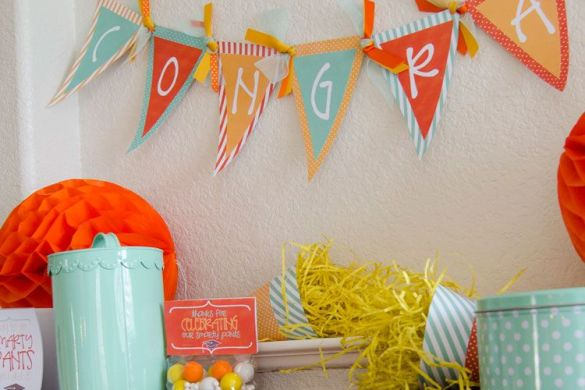 Free Printable Banners:: Graduation Party Ideas by Love The Day