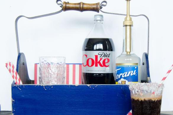 Dirty Diet Coke Drink Station with Wayfair by Love The Day