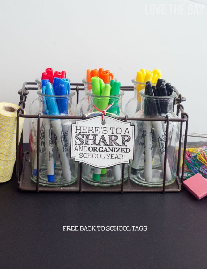 Back To School Teacher Gifts by Love The Day