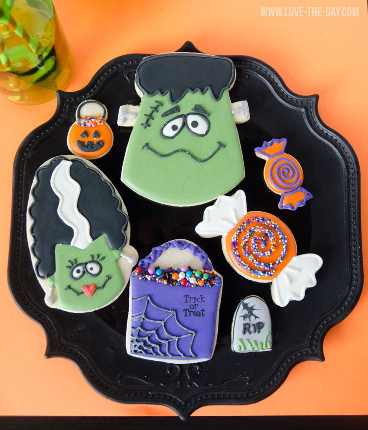 Halloween Cookies by The Cookie Fairy
