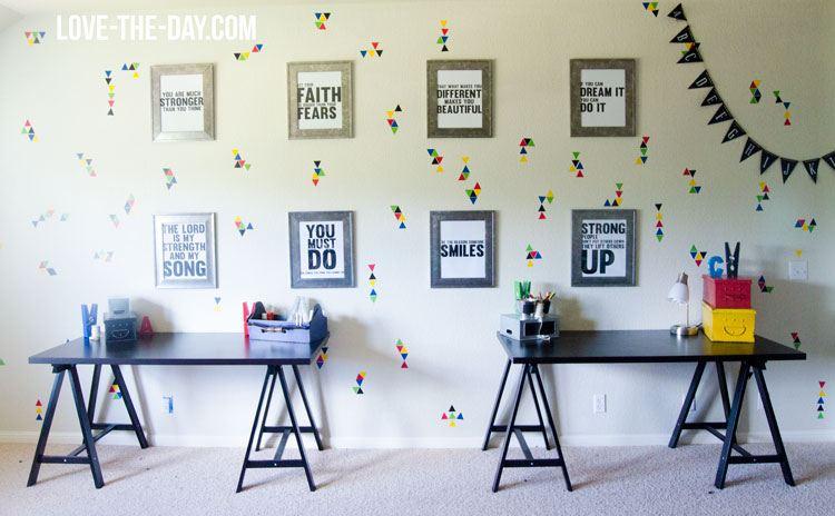Playroom Reveal with Wallternatives