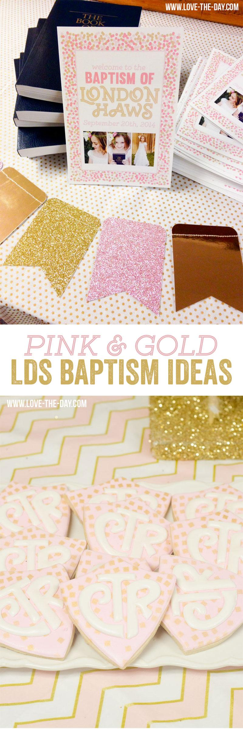 Mormon Baptism Ideas by Lindi Haws of Love The Day