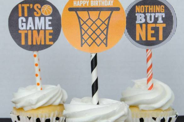 Basketball Party Ideas:: New Printable Collection by Love The Day