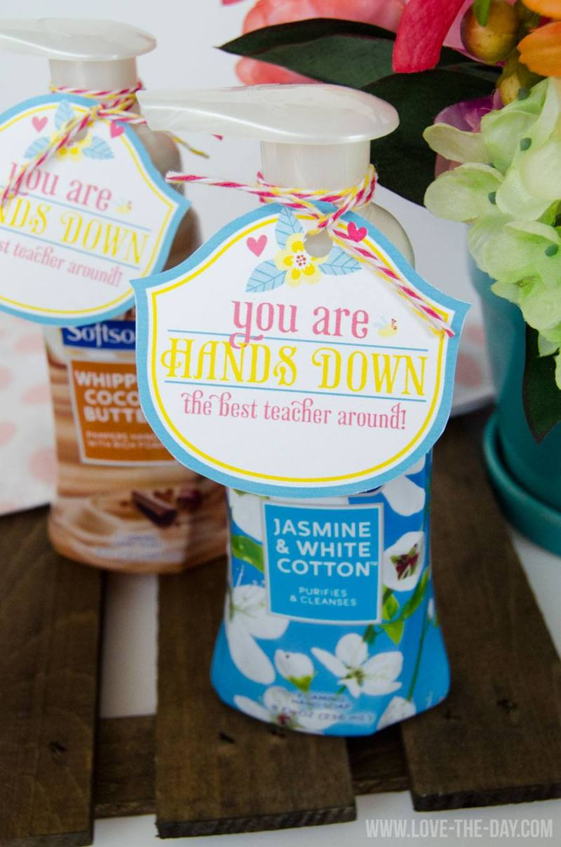 Teacher Appreciation Ideas:: FREE Printable by Love The Day