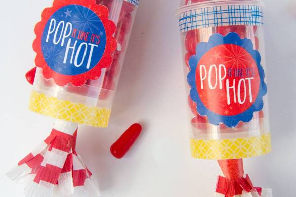 Pop It Like It's Hot:: July 4th Crafts by Love The Day