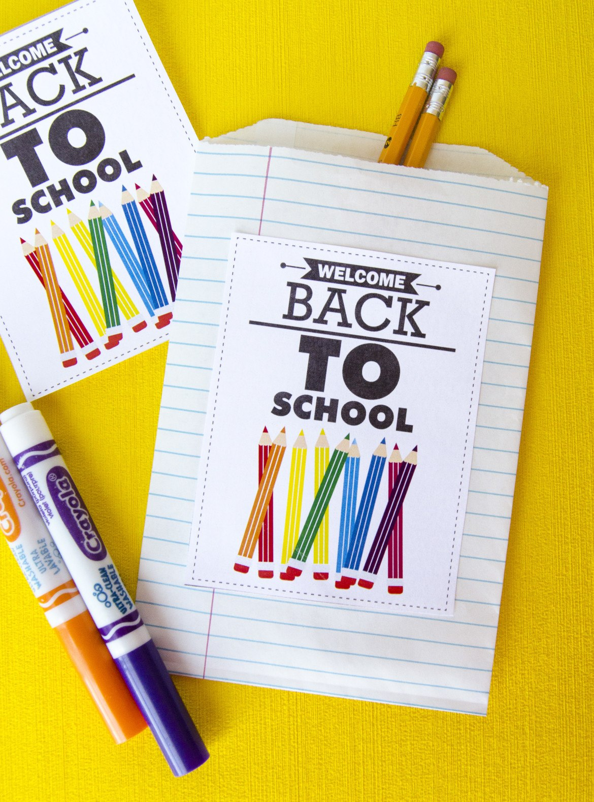 Free Welcome Back To School Printable By Love The Day