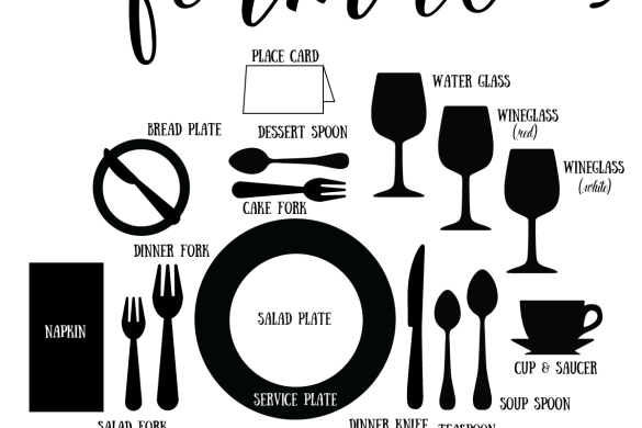 How To Set A Formal Dinner Table by Love The Day