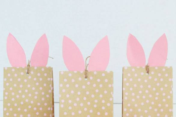 DIY Bunny Craft Bags by Lindi Haws of Love The Day