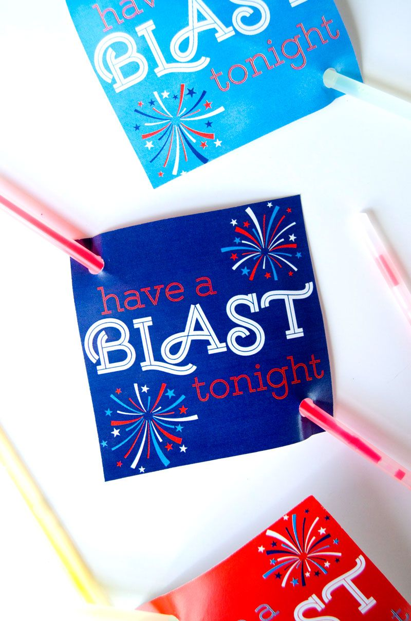 Have A Blast 4th of July Party Favor by Lindi Haws of Love The Day
