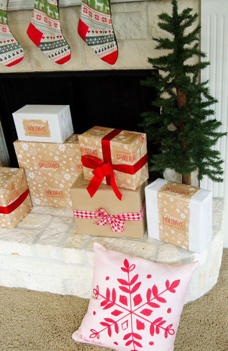 Christmas Card Holder Tutorial by Lindi Haws of Love The Day
