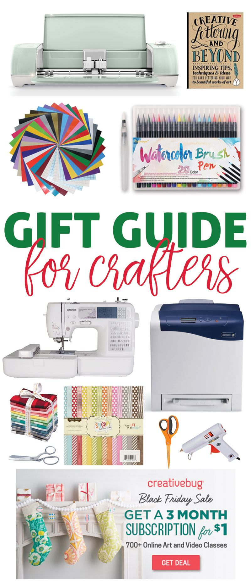 The 12 Best Gifts for Crafters by Lindi Haws of Love The Day