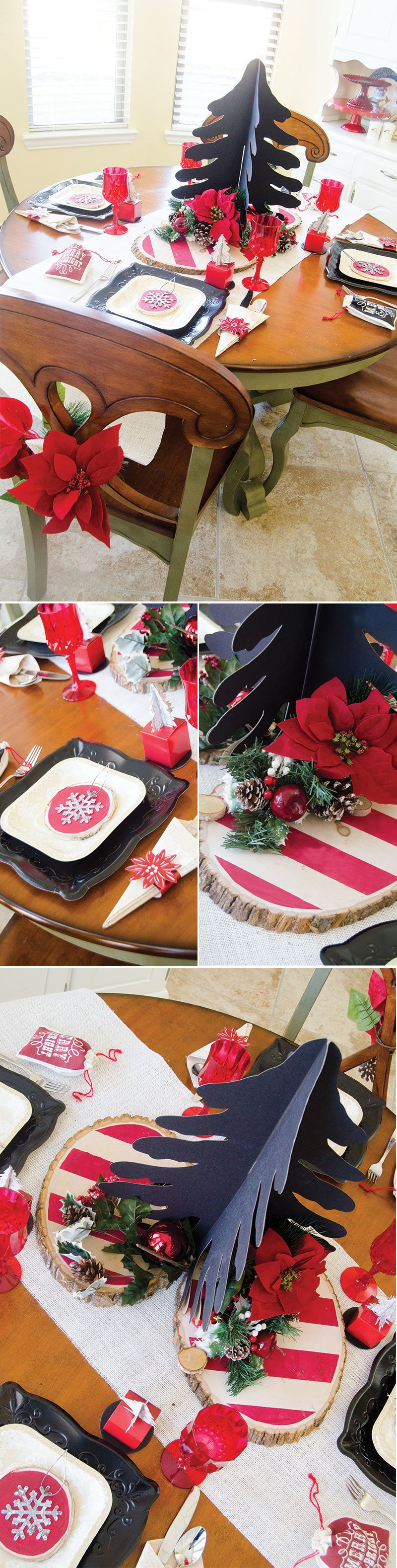 Rustic Christmas Party by Lindi Haws of Love The Day