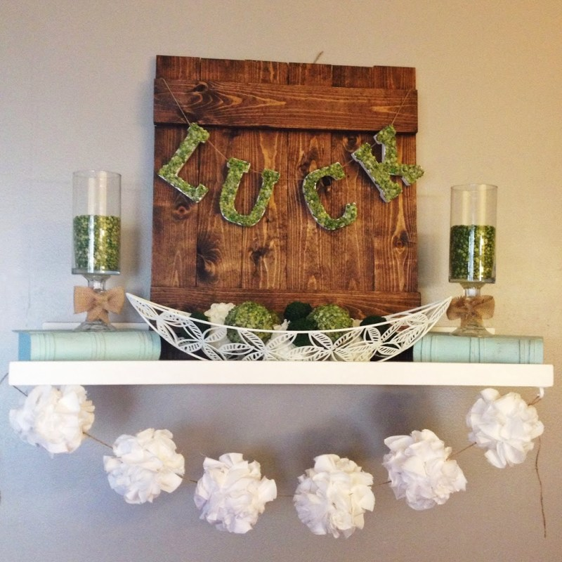 15 Easy DIY St. Paddy's Day Decoration Ideas on Love the Day