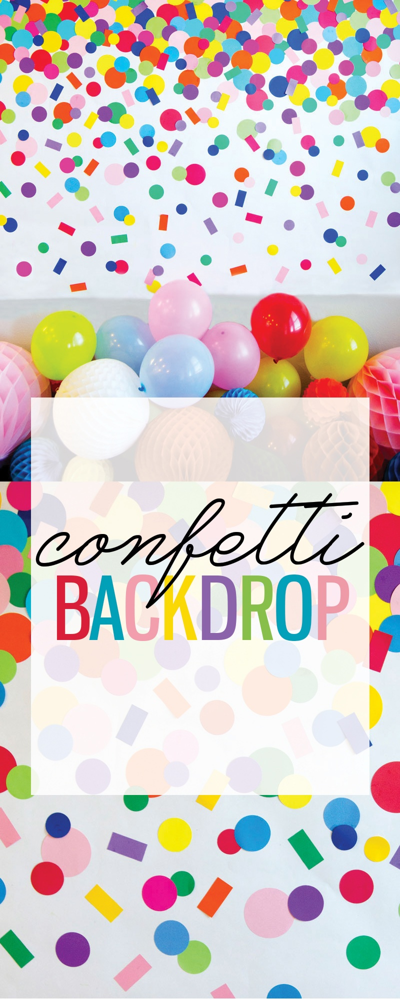 how to make homemade confetti