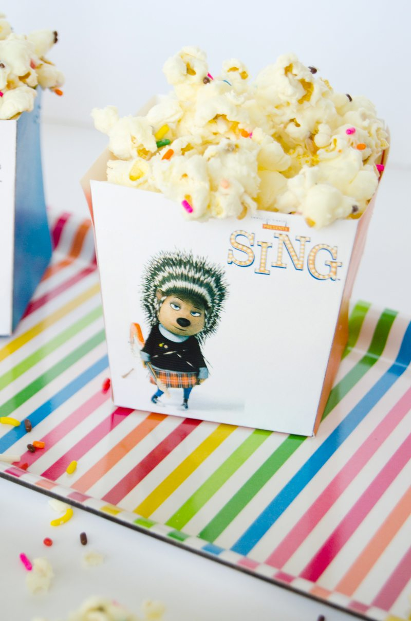 How To Make A Popcorn Box by Lindi Haws of Love The Day