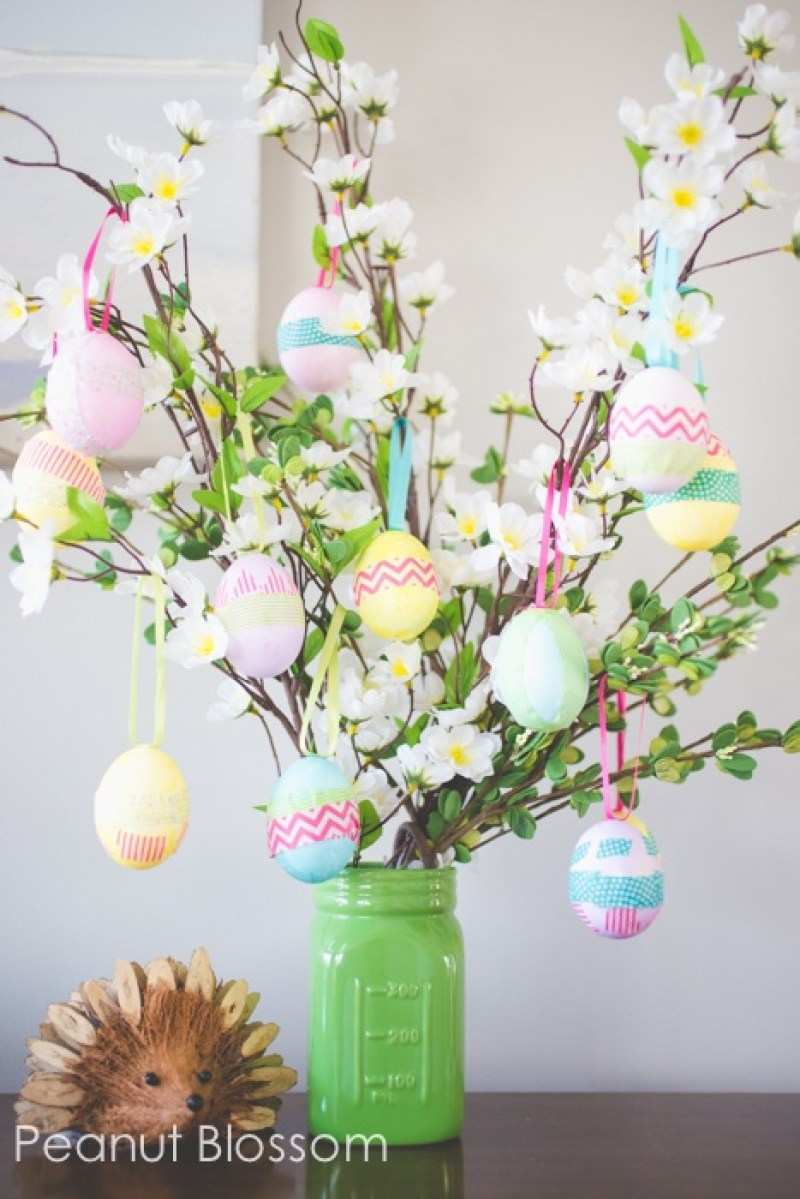 Simple and sweet diy easter party decorations on love the day