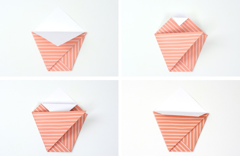 Origami Flower Pot by Amy Robison Design on Love the Day