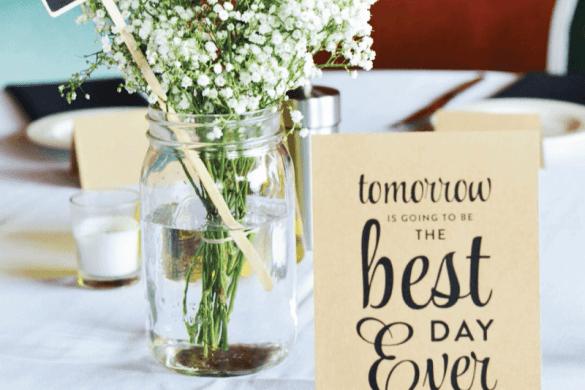 12 Cheap Rehearsal Dinner Ideas on Love the Day