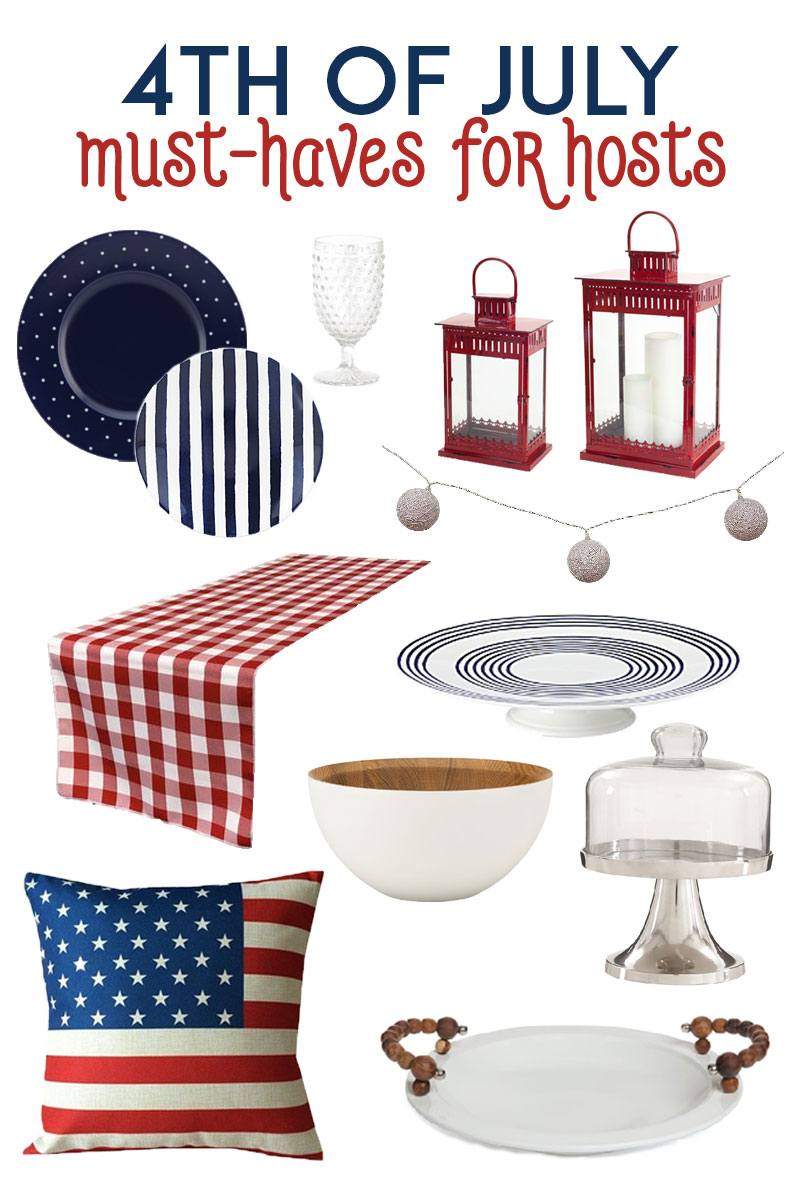 4th of July Must-Haves for Hosts on Love the Day