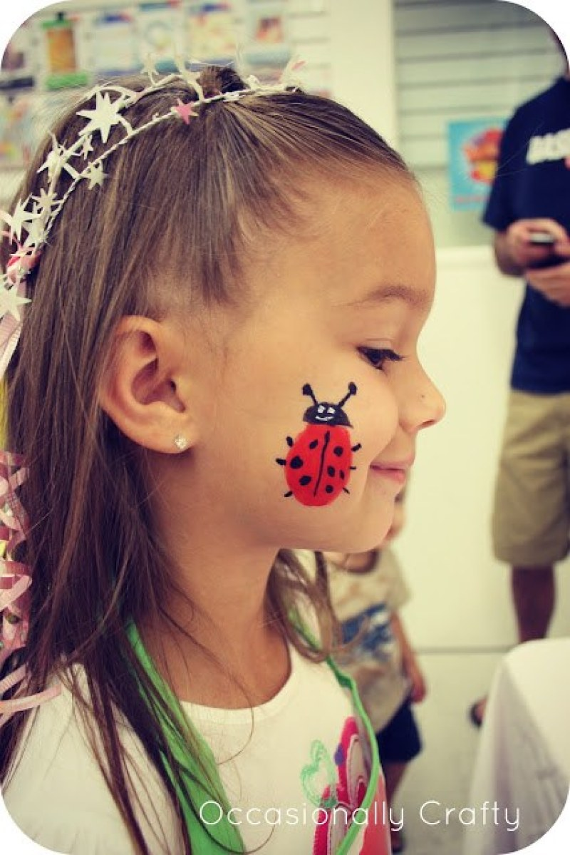 15 Face Painting Ideas for a Kids Birthday Party on Love the Day