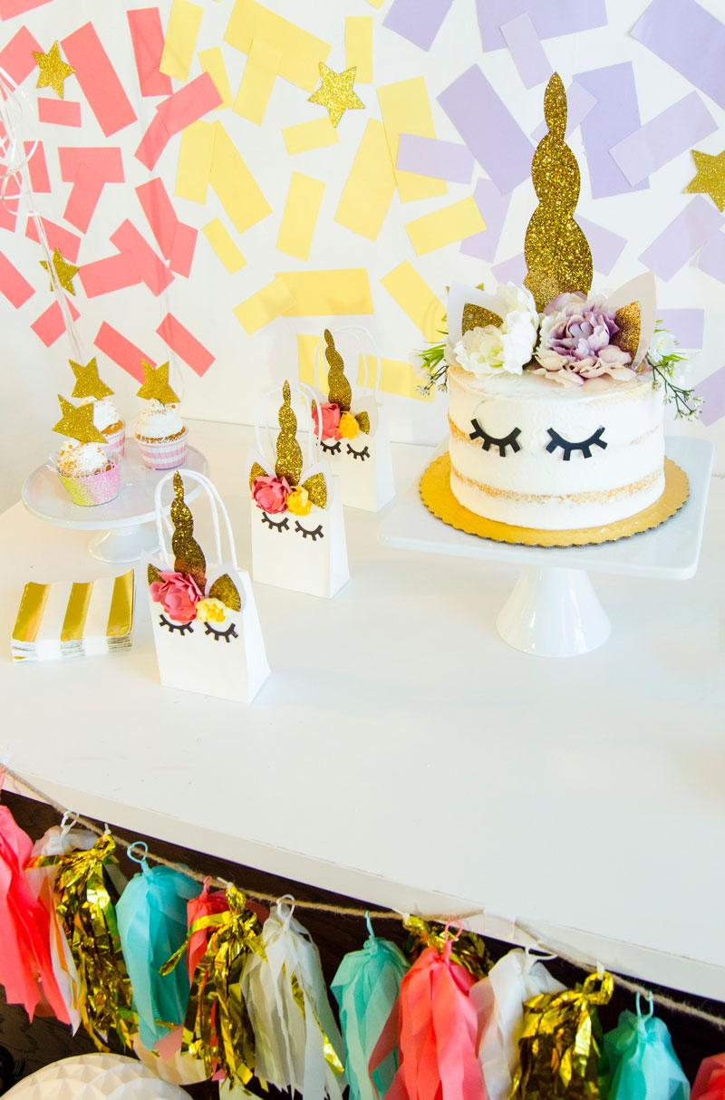 Throw a Magical Unicorn Party with the NEW Cricut Design Space!