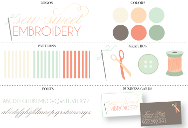Branding by Lindi Haws of Love The Day