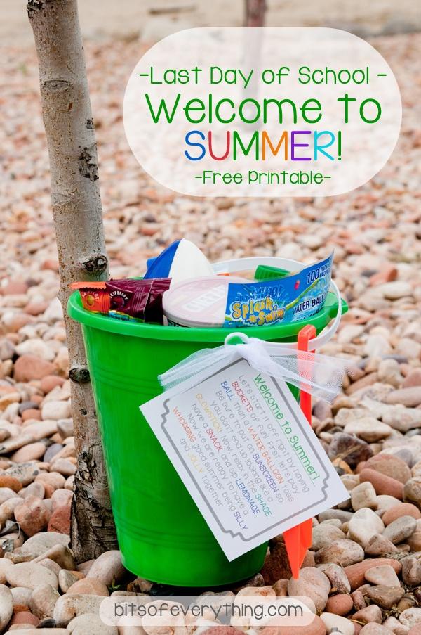 Welcome Summer Bucket!