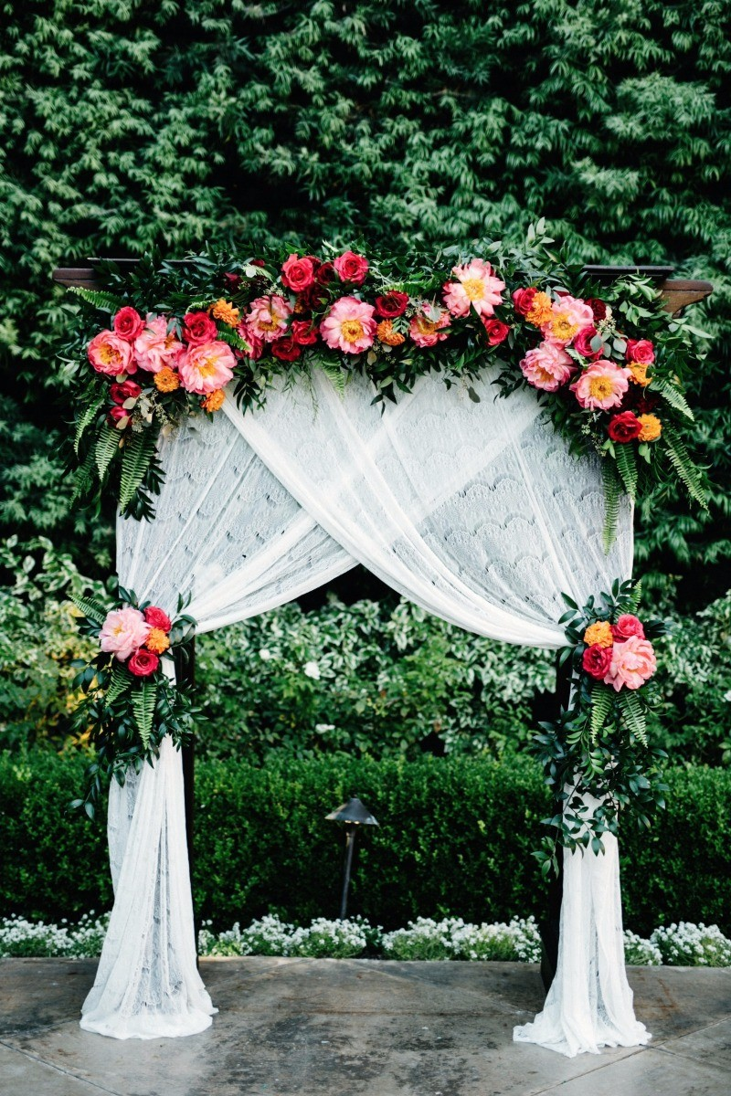 10 Stunning Wedding Backdrop Ideas on Love the Day
