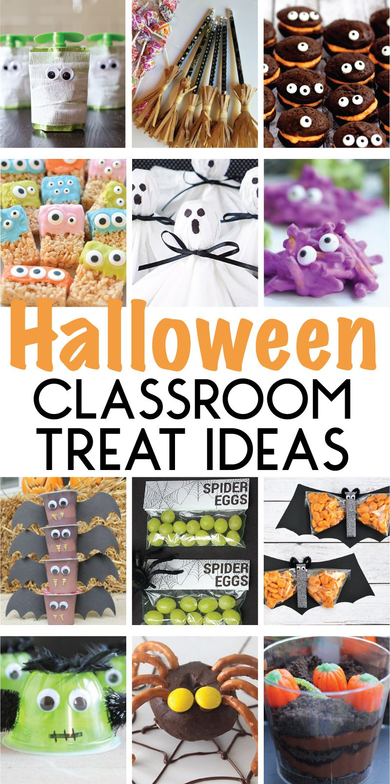 Classroom Treat Ideas ~ Halloween class party ideas and activities on love the day