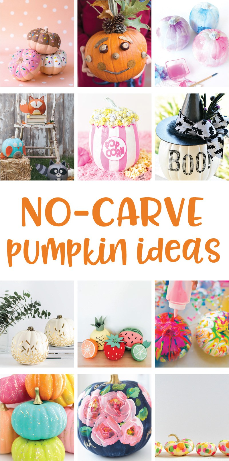 12 No-Carve Pumpkin Ideas on Love the Day