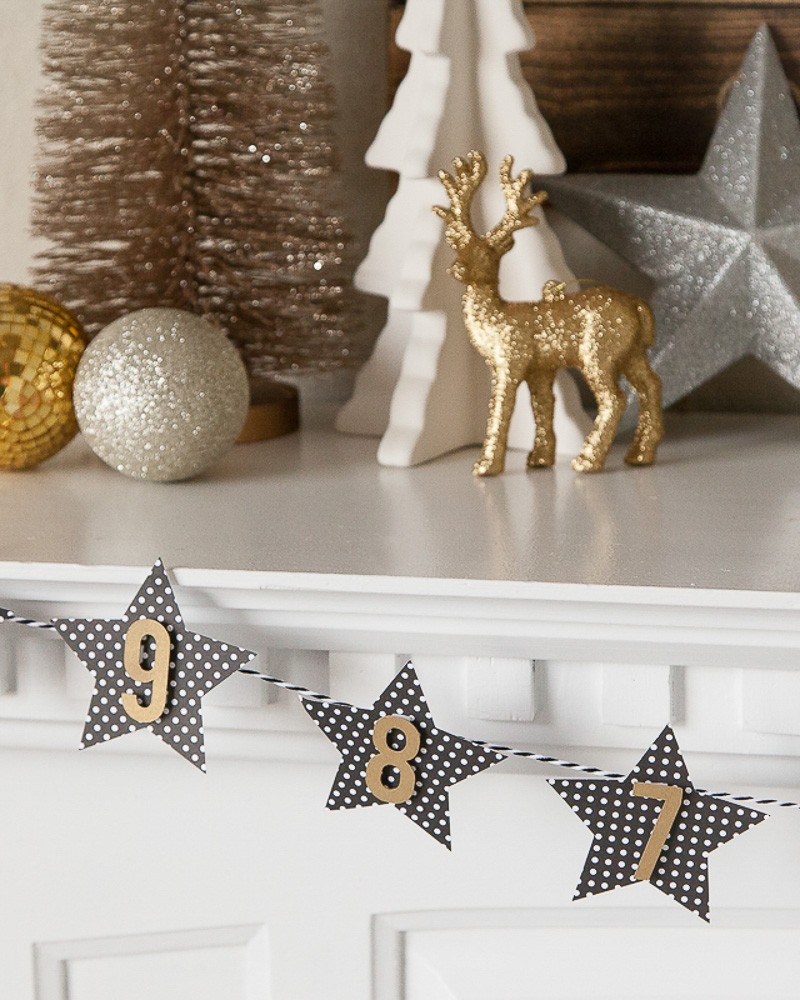 New Year's Eve Mantel by Destro Photography on Love the Day