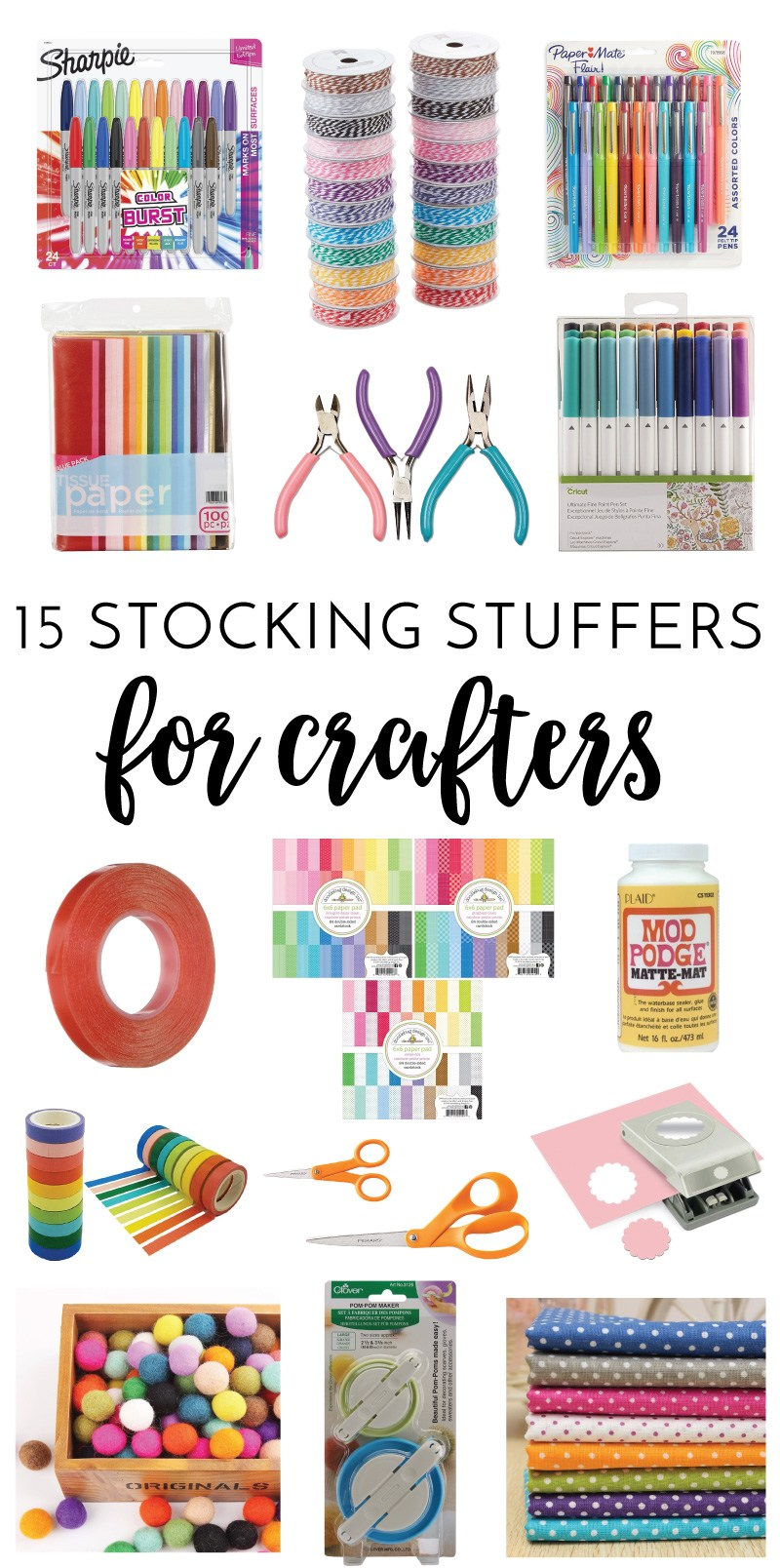 15 Stocking Stuffers for Crafters on Love the Day