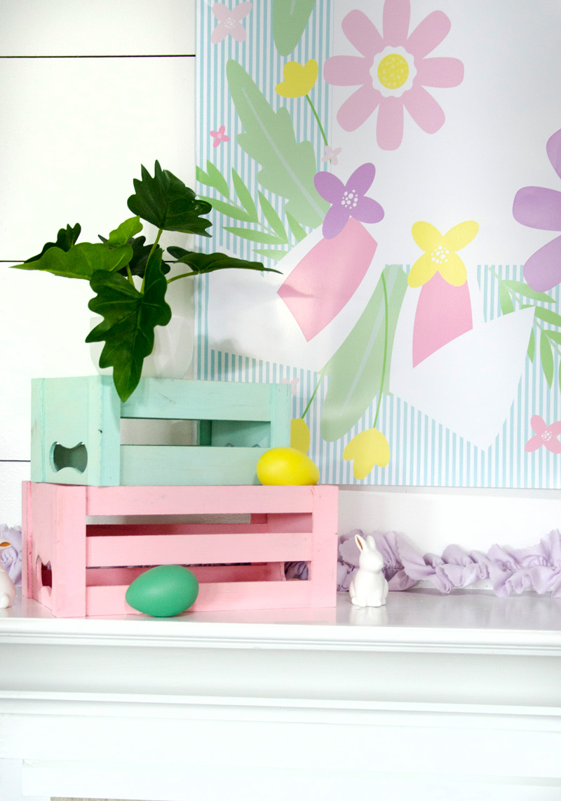 Easter Backdrop - April Backdrop of the Month by Lindi Haws of Love The Day