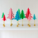 Paper Christmas Tree Tutorial By Lindi Haws Of Love The Day