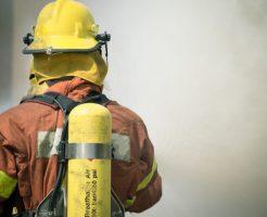 消防士男性