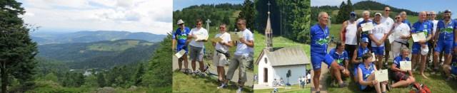 Rendez-vous estival du Club des Cent Cols à Bussang (Vosges) Eté 2014