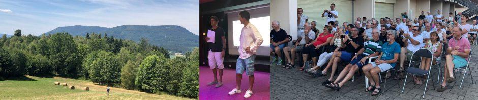 Séjour d'été Club des Cent Cols 2019 et rencontre BIG