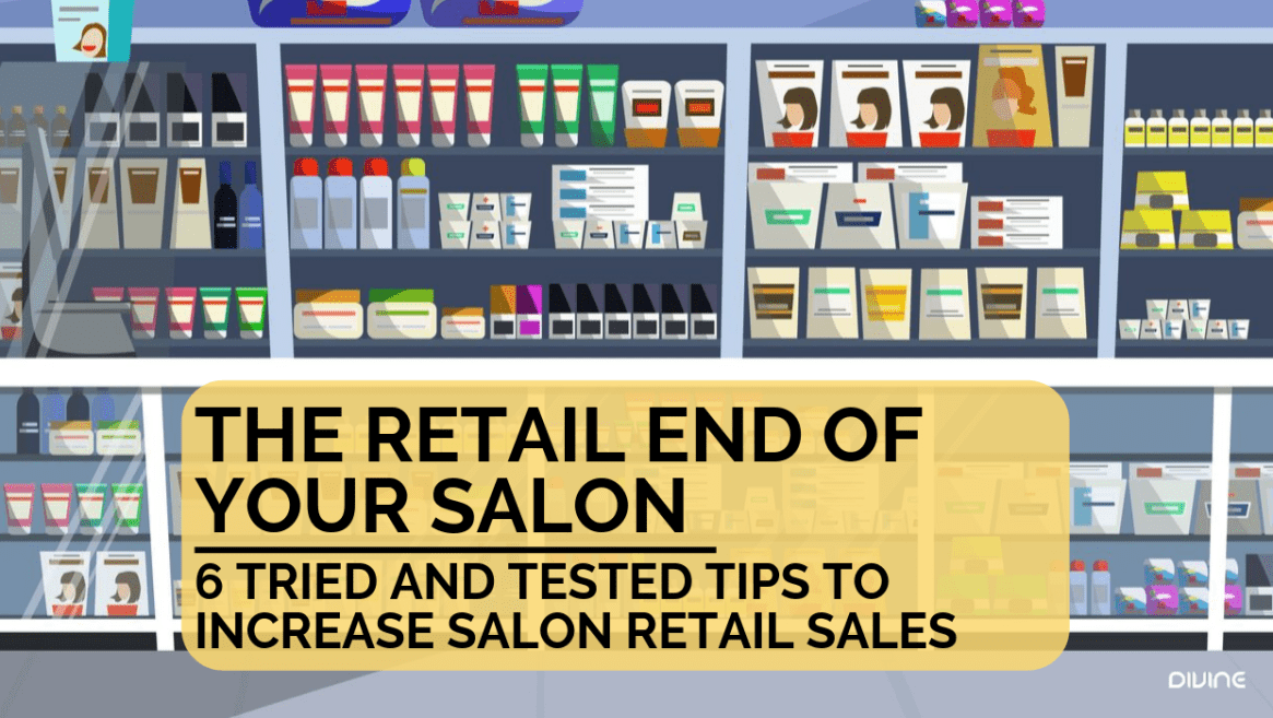 The retail end of your salon, for most hairstylists it can be said that they did not get into the hair industry to become a salesperson...