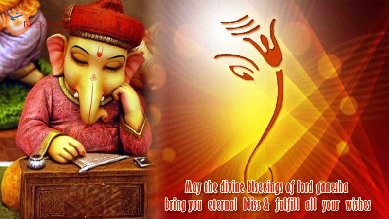 100+Happy Ganesh Chaturthi 2018 Wishes in Hindi- गणेश चतुर्थी की शुभकामनाये