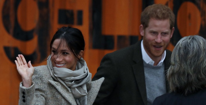 Meghan Markle and Prince Harry visit Pop Brixton Jan 2018